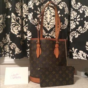 Louis Vuitton Vintage Bucket Bag Petit & Pouchette
